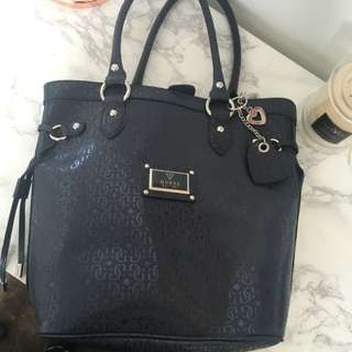 Guess Bag Navy Blue