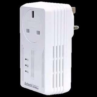 Aztech Homeplug AV Bundle of 3 200Mbps