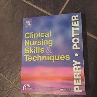 Clinical Nursing Skills & Techniques 6th Edition