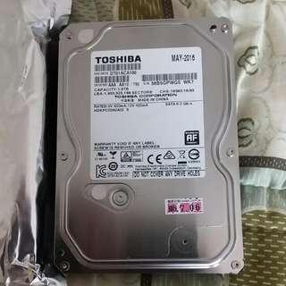 Toshiba 1t硬碟
