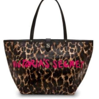 Victoria's Secret Leopard Beach Bag