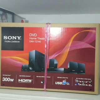 Sony Home Theatre System DAV-TZ140 black colour  full set (unopened and original condition)