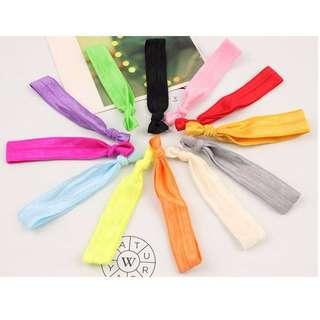 [Hair-tie] Knotted Rubberband Hairties