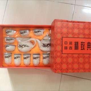 China Tea Set Color Changed