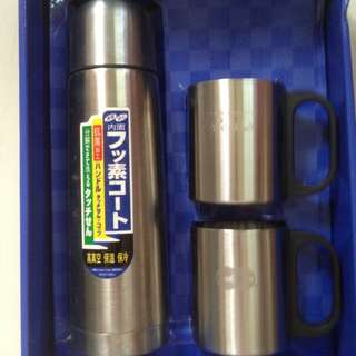 Thermos + 2 Cups