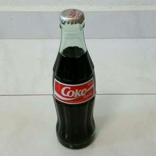 Japan Coca Cola glass bottle Collectible (1 available only)