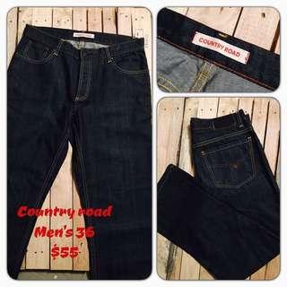 Men's Big Brand Jeans