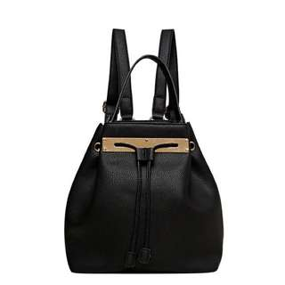SEED Faux Leather Backpack