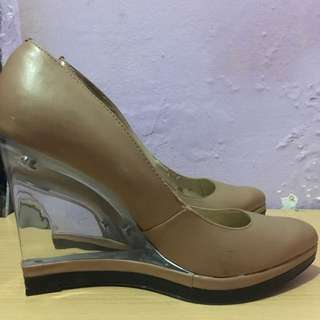 Wedges High Heels Charles & Keith Size 37