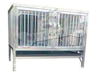 2 door aluminum dog cages for sale