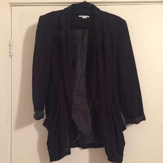 Black Soft Blazer