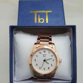 TBT Arabic Watch Rose Gold