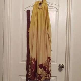 MNG Suit Belted Halter Dress Eur M