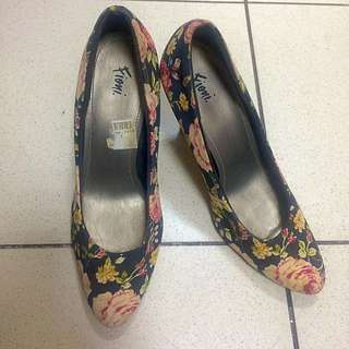 Fioni Floral Heels