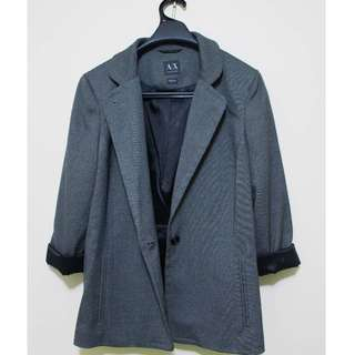 Armani Exchange Women's Grey Blazer