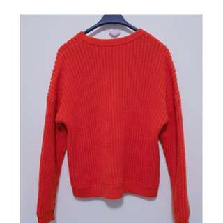 Sports Girl Chunky Knit Sweater -  XS