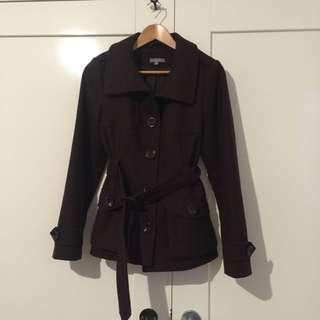 Dark Brown Jacket (size 8)