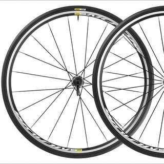 Mavic Aksium Rims (almost new, Taken Off New Bike)