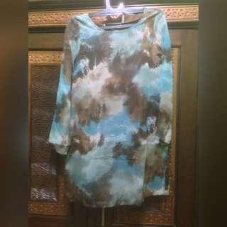 Midi Dress Abstract