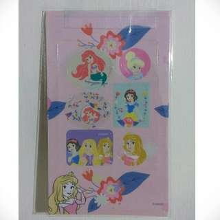 🚚 迪士尼小美人魚 白雪公主 睡美人 灰姑娘 米奇貼紙