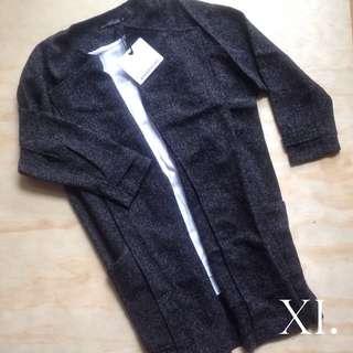 Rosebullet Charcoal Grey Coat Jacket