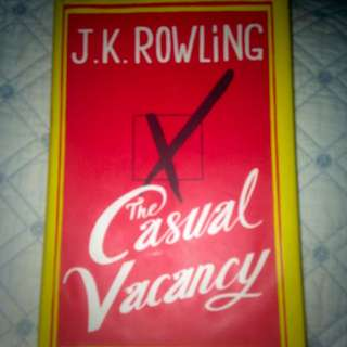 Casual Vacancy By JK Rowling
