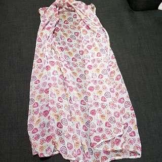 Size S Printed Long Vest