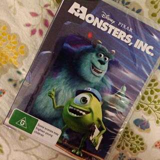 Monsters, Inc. DVD