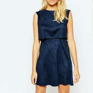 Navy Layered Dress UPDATED PRICE
