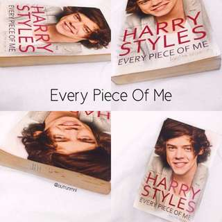 """Harry Styles Book """"Every Piece Of Me"""""""