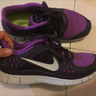 Nike Purple Free Run