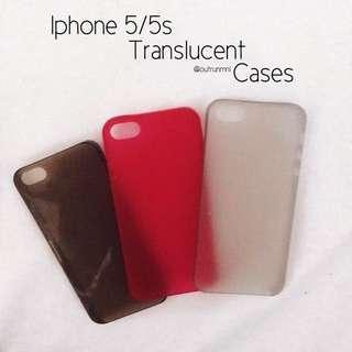Iphone 5/5s Translucent Cases