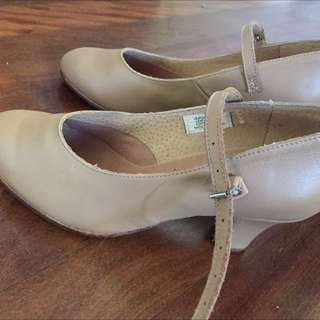 Bloch Ballet Character Shoes Heels Brand New Size 5.5