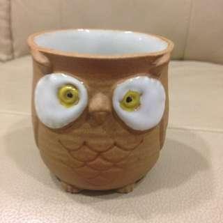 Owl Design Tea Cup