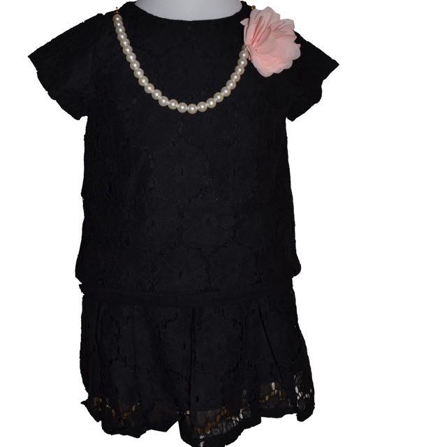 蕾絲2件式套裙