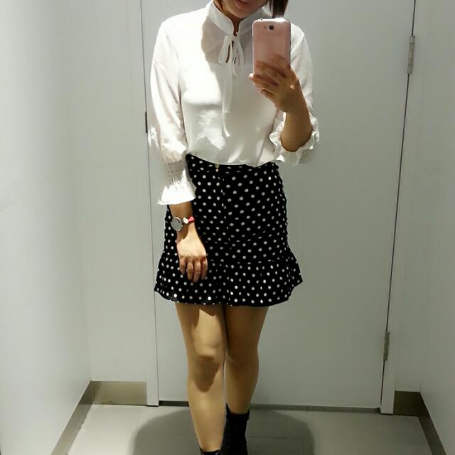 俏麗魚尾復古短裙