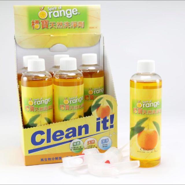 橘寶蔬果碗盤天然洗淨劑 250ml