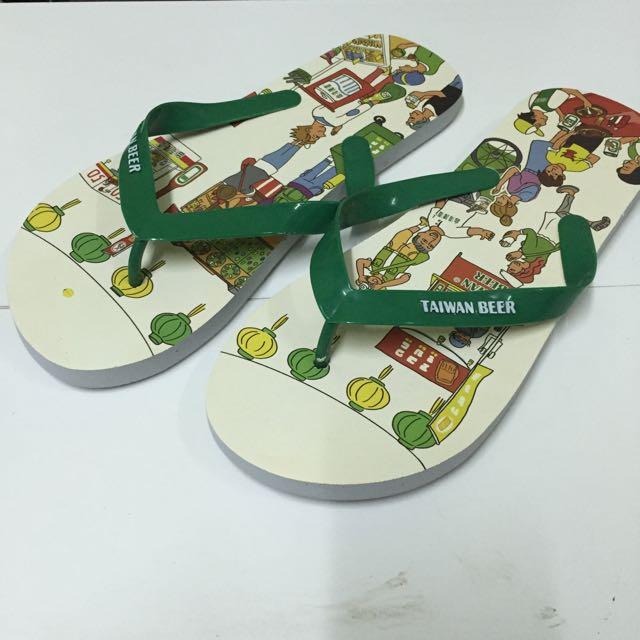 台灣啤酒拖鞋/夾腳拖/人字拖 買一送一‼️