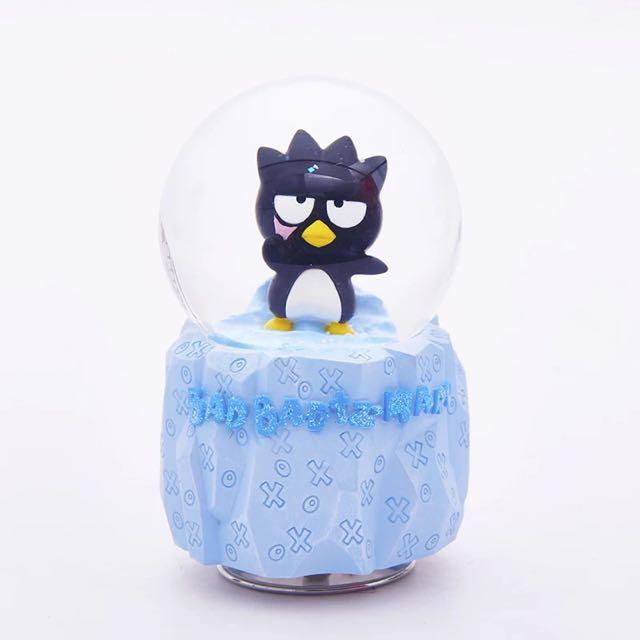 酷企鵝冰山水晶球 音樂盒