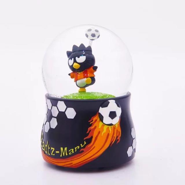 酷企鵝足球 水晶球 音樂盒