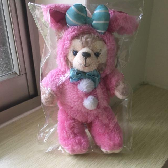 香港復活節粉兔吊飾 全新 已絕版
