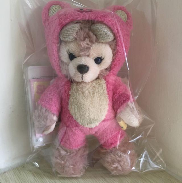日本變裝熊抱+雪莉玫 全新 已絕版