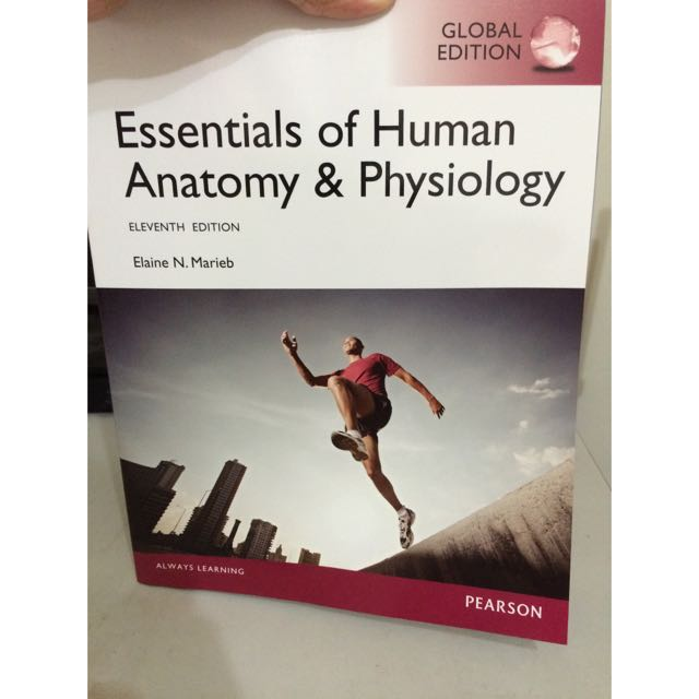 人體內部構造與功能 Essentials Of Human Anatomy&physiology.Pearson.中興大學生命科學系用書