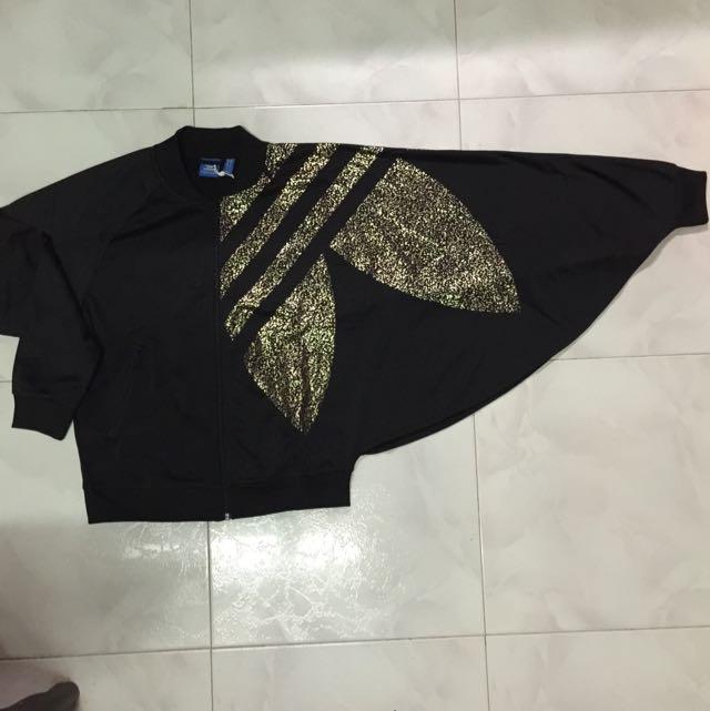 Adidas Original Black Noir Kackets Veste Women S Fashion On Carousell