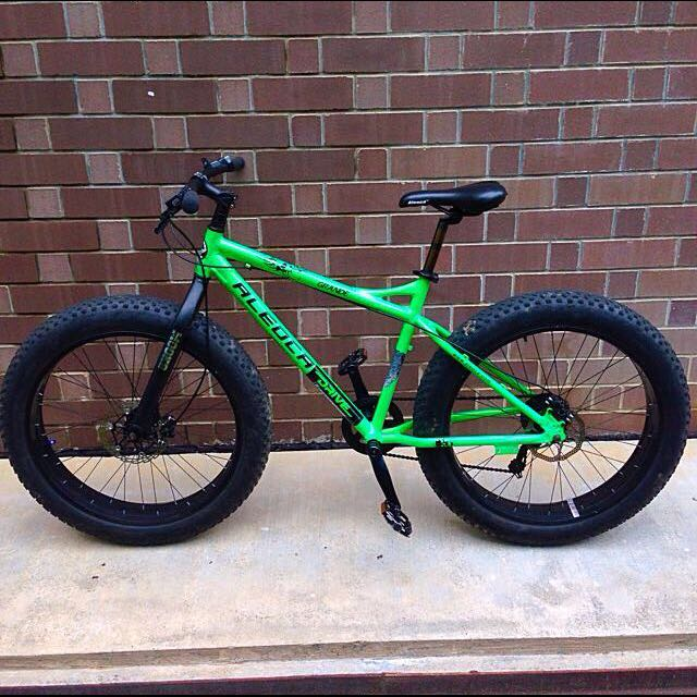 Aleoca Fatbike Fat Bike Sports On Carousell