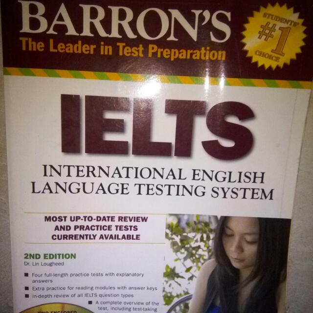 Barron's IELTS book