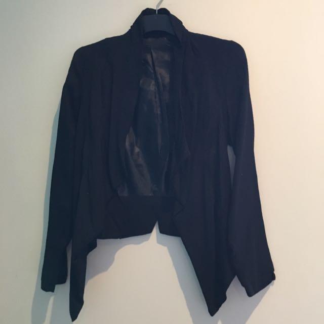 Black Blazer Size 6