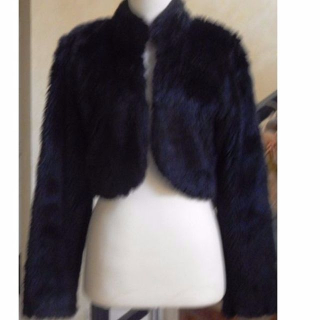 Black fur outer -  fits small to medium sizes