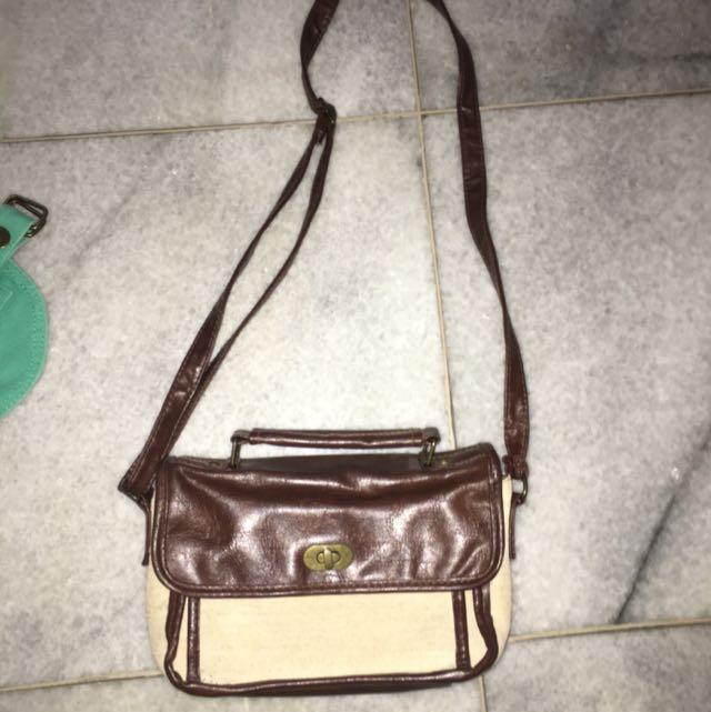 Brown & Beige Bag