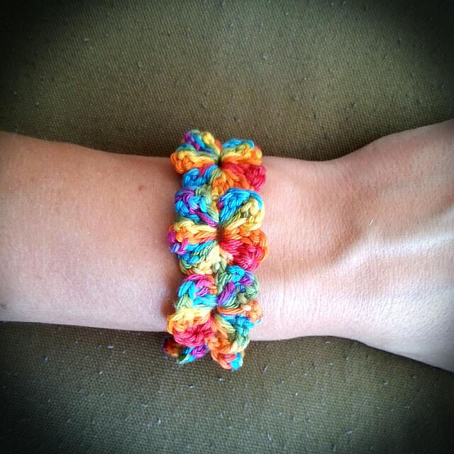 Colorful Flower Bracelet